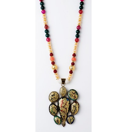 Multi Stones Neck Piece
