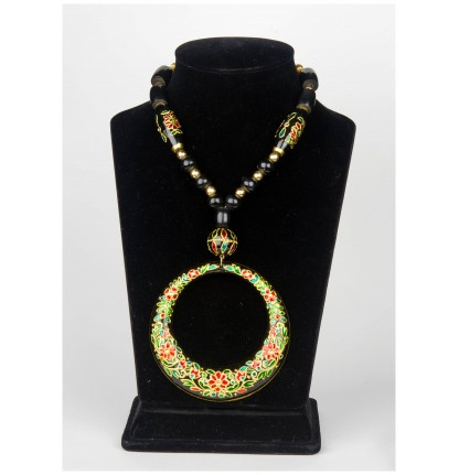 Round Necklace (Gold Foiled)